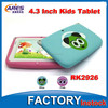 high quality 4.3 inch kids mini tablet pc with rockchip rk2926 a9 single core processor android 4.2 jelly bean os