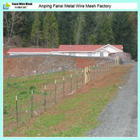 high security long time hinge-lock outdoor durable large dog fences prices for sale