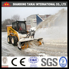 BIG DEAL! China Made Cheap JC60A Mini Skid Steer Loader with Snow Blower