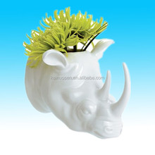 decorative porcelain wall art vases with flowers for sale