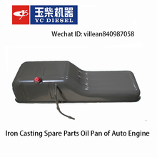 Iron Casting Spare Parts Oil Pan of Auto Engine