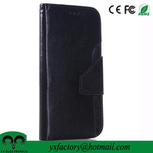 china wholesale suppliers cheap two-tone pu leather wallet phone case for samsung galaxy s6