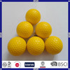 promotional colorful pu foam golf ball