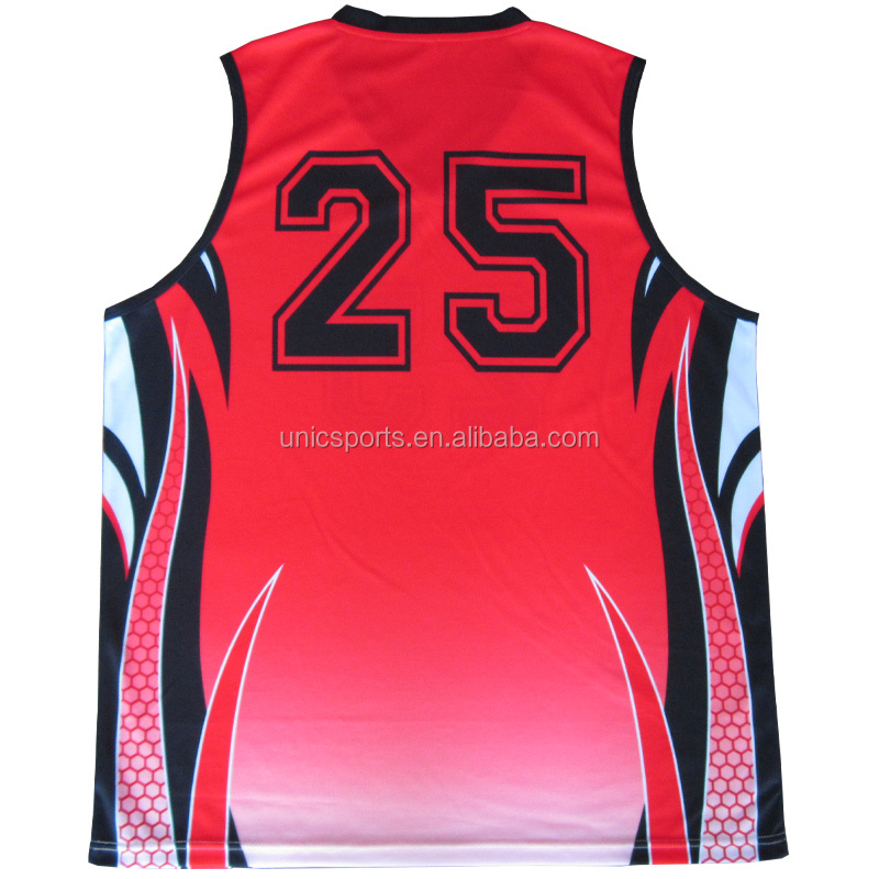 custom basketball reversible number polyester brab
