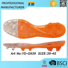 High Quality Soft Soccer Tpu Summer Ladies Shoe Making Soles Footwear Online Shopping