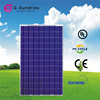 Easy to use polycrystalline 240w solar panel prices m2