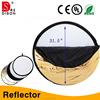 5 in 1 camera light equipment foldable reflector made of Korean fabric