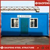 fast build simple new style stable prefab container house shenzhen