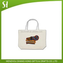 100% Cotton Canvas Tote Bag /cotton gym bag/cotton carry bag