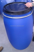 Food grade 200 litre blue plastic drum