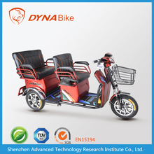 hot selling 48V 500W 3 wheel electric bicycle for passengers