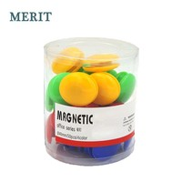 40mm Small Colorful Office Magnet Button for Whiteboard Tube Packing