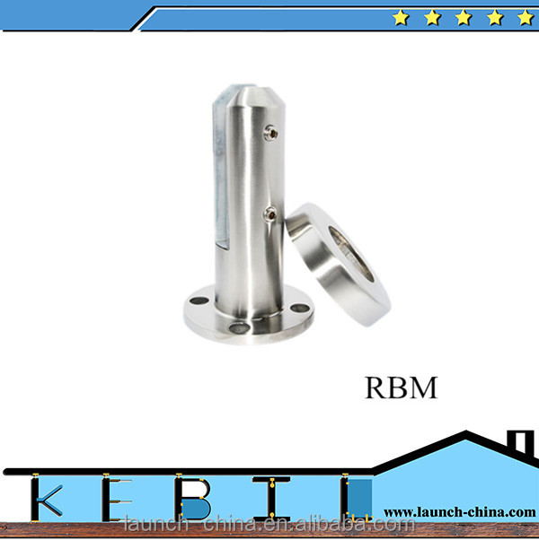 Wholesale outdoor balcony deck railing round base plate