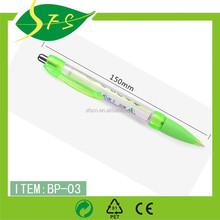 Click Banner Pen Scroll Ball Pen Flag Pen For Promotion