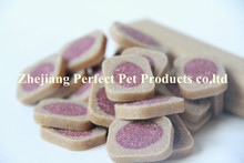 origin pet food (dog treat pieces shaped bull eyes)