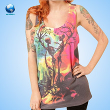 Wholesale fashion printed tank top for women BF-77