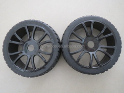 New design RC Car Tires 1/8 Buggy Tires with Wheels and Tyres(180043)