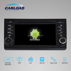 Android car dvd with 2 din touch screen car gps for AUDI A4
