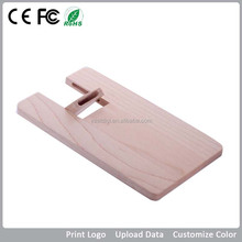 Branded Free sample/wooden credit card/ 2GB usb flash drive/bulk cheap buy from china