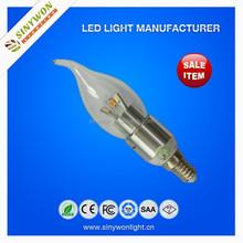 2015 New Product! Top Sale Low Cost 3w Led Filament Bulb, E14 Led Bulb