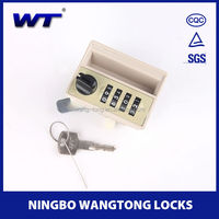 9502 / 4 digit combination lock for cabinets