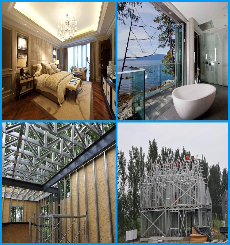 pas cher et rapide construction acier cadre maison pr fabriqu e maisons pr fabriqu es id de. Black Bedroom Furniture Sets. Home Design Ideas