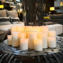 China Remote control electroic led wax candle Color changing candle remote control