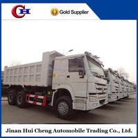howo 6x4 dumper trucks carrying stone or coal for hot sale
