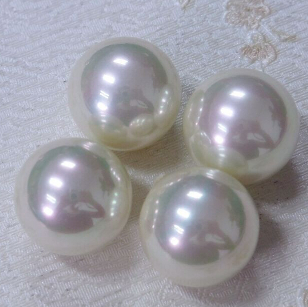 without hole plastic pearl