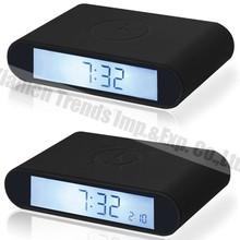 flip small digital desk clock, import digital desk clock