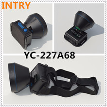 INTRY at fire sale prices Strong lithium electricity LED waterproof tapping head lamp YC-227A68