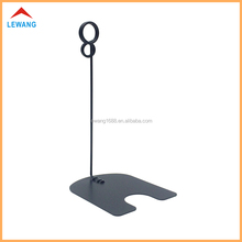 150MM Height Black Round Shaped Memo Clips,Metal Note Clamp,stainless steel sign holder clips