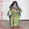 frightening Murderer baby cradle killer haunted house decoration props make screaming noise