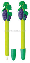 special plastic pen cartoon grape ball pen