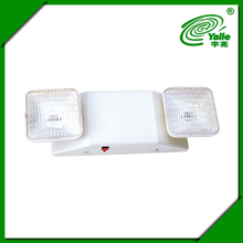 Twice head rechargeable led emergency lamp 6w