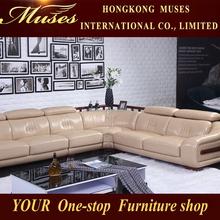 2015Modern hot corner leather sofa S70011