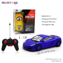 1:18 Scale RC Car ,4CH Radio Control Car Toy