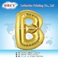 Lettre de l'alphabet ballon. pour la décoration partie, gonflable ballon de papier, usine de ballon de la chine