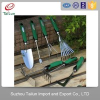different kinds of stainless steel garden digging tools set