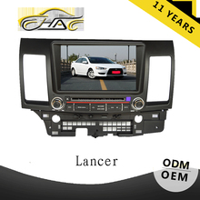 for mitsubishi lancer car monitor with gps 8 inch car dvd player with bluetooth hands free call