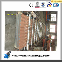 Color steel double layer sheet forming machine