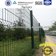 High Quality PVC wire fencing, PVC wire mesh fence price (factory)