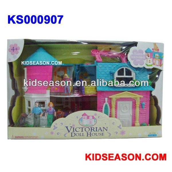 casa de muñecas de plásticoMuebles JugueteIdentificación del