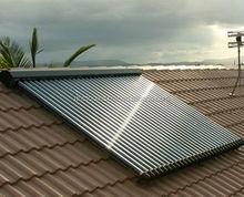 High borosilicate 3.3 glass evacuated tube solar collector