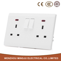 Useful and Durable Metal Clad Switch Socket