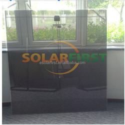 BIPV transparent thin film solar panel