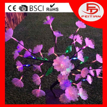 led new flower light CE ROHS GS certificated and new designed popular outdoor led christmas tree light