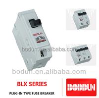 Plug-in type fuse mimiature 60 amp circuit breaker