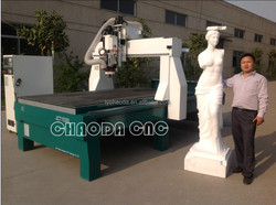 4x8 ft cnc router / 4 axis 3d cnc milling machine for EPS ,styrofoam,PU,polystyrene