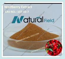 Las hierbas naturales polisacáridos de goji 50% por los rayos uv